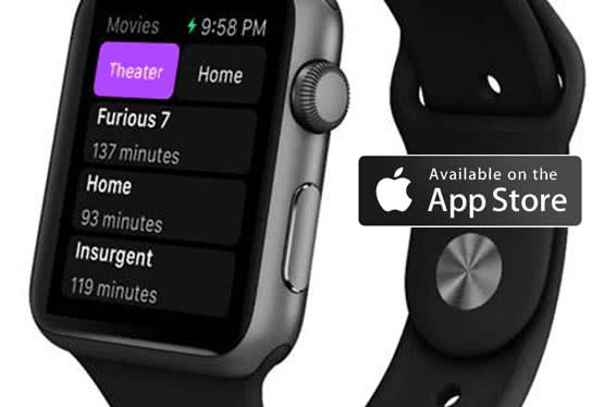 Movie Hype App for Apple Watch